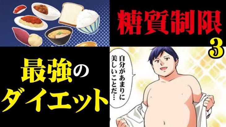 【マンガ動画】最強のダイエット「糖質制限」3~マンガで分かる美容皮膚科~