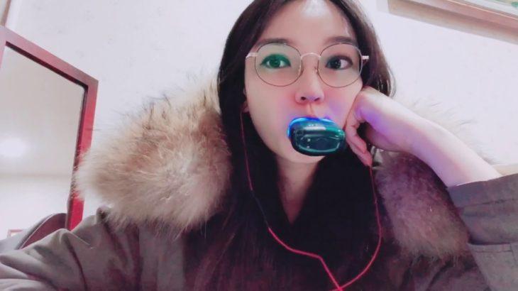 20200207 美白奶嘴 刷牙神器 使用中