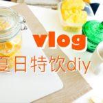 居家vlog | 最便宜的美白方法 | 自制桃子酒&柠檬水