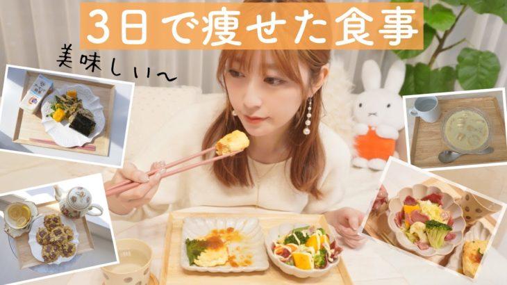 【ダイエット】3日で痩せた食事//解説&レシピ