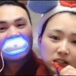 措不及防為了我一碗狗粮 #牙齒美白儀聲波電動牙刷