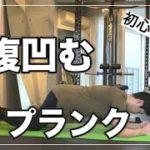 【30秒】初心者向け!お腹が凹むプランクトレーニング 【腹筋 ダイエット】
