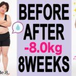 【ー16キロ】ダイエット8週目・運動強化月間ウォーキングやプールでどんどん体重を落としちゃう!【 DHCダイエットチャレンジ】