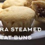 【ダイエット】簡単レンジで2分!低糖質おからパウダー肉まん作ろう‼︎How to make Okara steamed meat buns.
