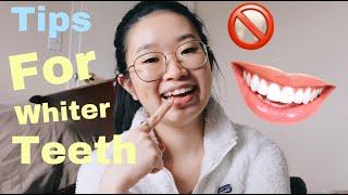 How I Keep My Teeth White   Tops   如何保持牙齒美白小貼士