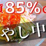 【糖質制限ダイエット】いくら食べても太らない!「もやしの冷やし中華風」の作り方【低糖質】Low Carb Hiyashi Chuka Recipe