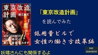 「東京改造計画」 を読んでみた 低用量ピルで女性の働き方改革編 妖精さんにも関係するよ