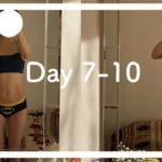 【Diet Vlog】Day 7-10 少しずつのダイエットとTOEICを頑張る